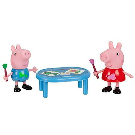 Peppa Pig 92626 and George Drawing Toy Figure - George Pig