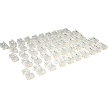 Tripp Lite N031 050 50 Pack Cat5E Rj45 Modular Connectors ()
