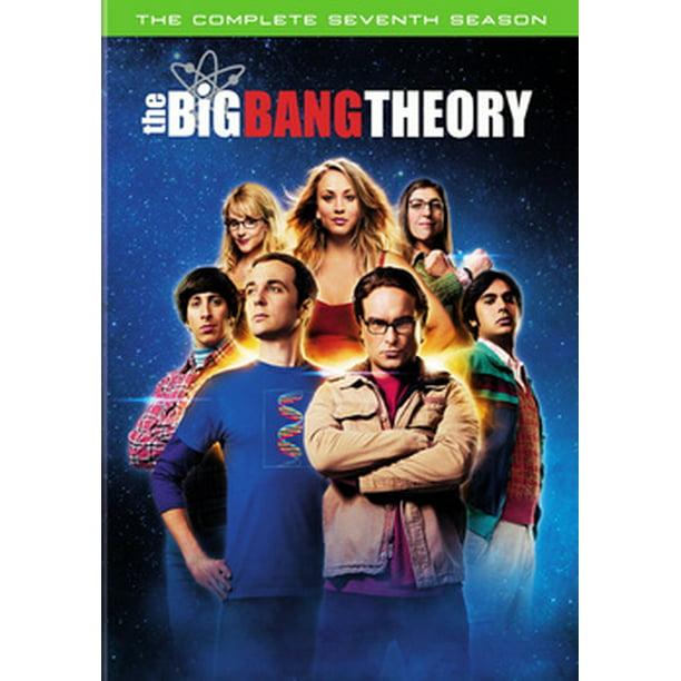 The Big Bang Theory The Complete Seventh Season Dvd Walmart Com Walmart Com