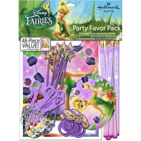 Tinkerbell Sweet Treats Party Favor Set (Tinkerbell Birthday Party Ideas)