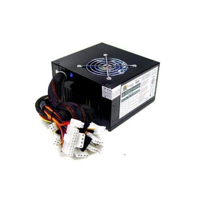 Logisys PS575XBK 575W Dual Fan SLI Ready Switching Power ...