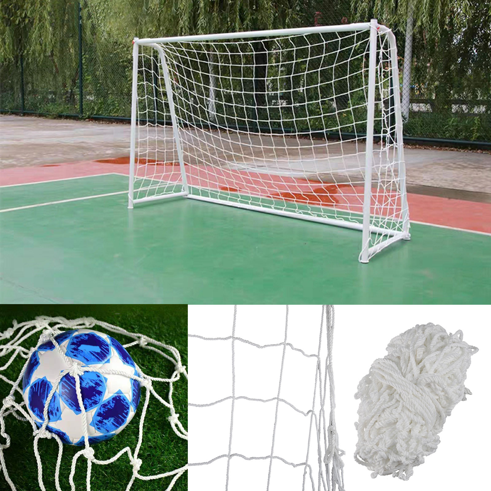 TSV Football Post Soccer Goal Target Net 6 x 4ft Football ...