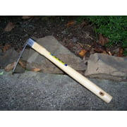 """Zenport Stainless Steel Hoe with 6"""" x 3"""" Blade Head and 15"""" Ash Handle"""