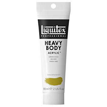 Liquitex Heavy Body Acrylic Paint: Green Gold, 2oz