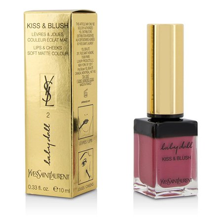 Yves Saint Laurent Rose Blush - Yves Saint Laurent - Baby Doll Kiss & Blush - # 02 Rose Frivole -10ml/0.33oz