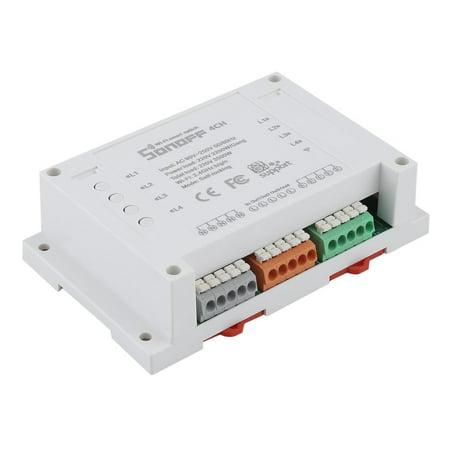 Sonoff 4-Channel Smart Wireless WiFi Switch Mobile Phone Remote Control