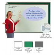 Aarco Products 120A-48CS Porcelain Enamel On Steel Chalkboard - Slate