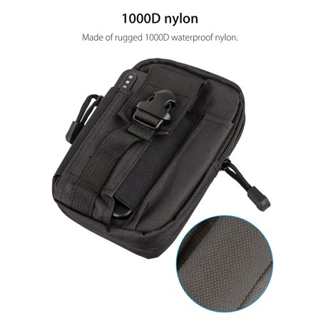 Security & Protection 1000d Water-resistant Molle Accessory Gps Gadget Gear Tool Holder Phone Case Utility Waist Pack Pouch Belt Bag With Traditional Methods