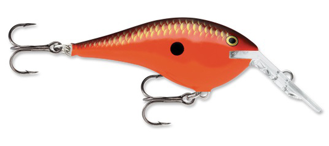 Rapala DT Thug Fishing Lure Red Crawdad by Rapala