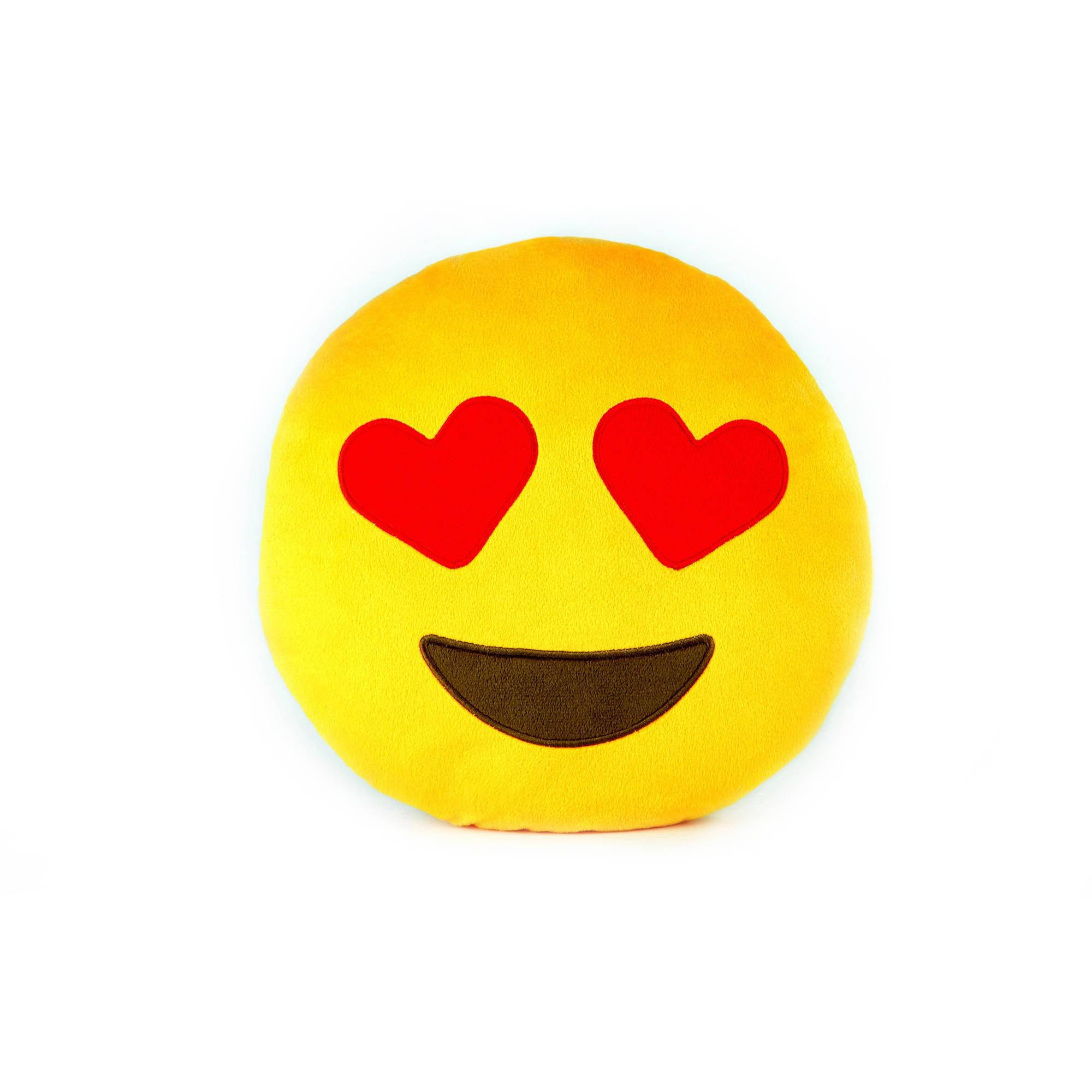 Throwboy The Original Emoji Pillows - Hearts
