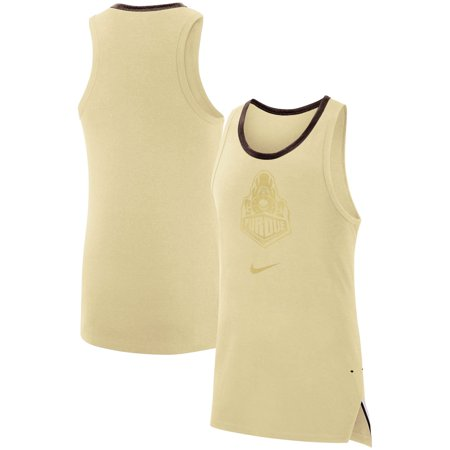 Purdue Boilermakers Nike Elite Sleeveless Top - Gold