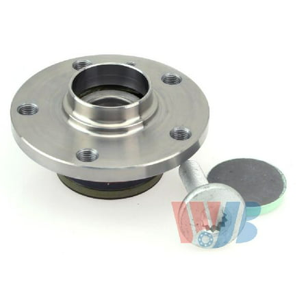OE Replacement for 2009-2012 Volkswagen Passat CC Rear Wheel Bearing and Hub Assembly (CC / Highline / Highline V6 / Sportline)