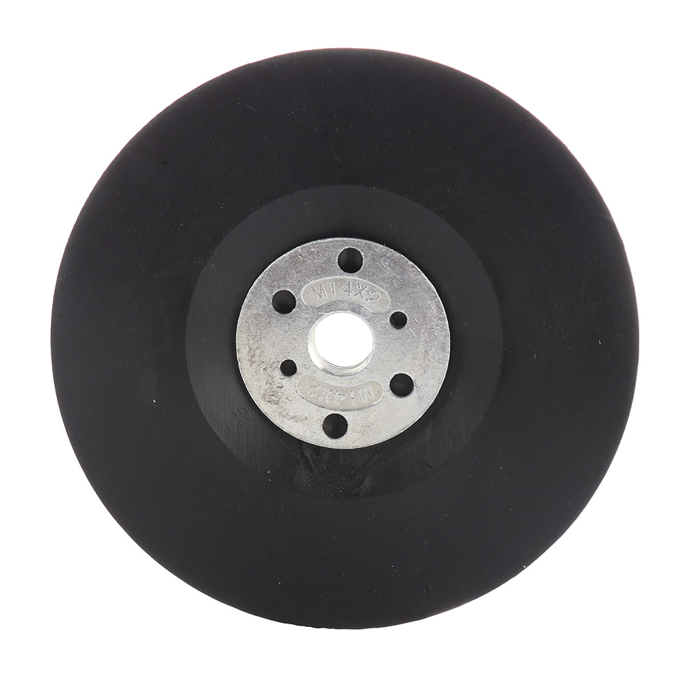 4/'/' 5/'/' 6/'/' 7/'/' Angle Grinder Plastic Backing Pad M10 M14 for Fibre Sanding Disc