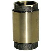 CV-75NL Check Valve, Brass, 3/4-In. - Quantity 1