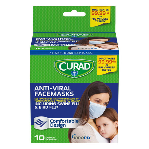 Bird Pack - Flu Antiviral Flu Mask 3 10 Curad Walmart com Including For Earloop Swine And Face Ea