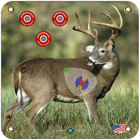 """Arrowmat LLC AMBB17 X12 Arrow Mat Deer Target 17"""" x 17"""" thumbnail"""