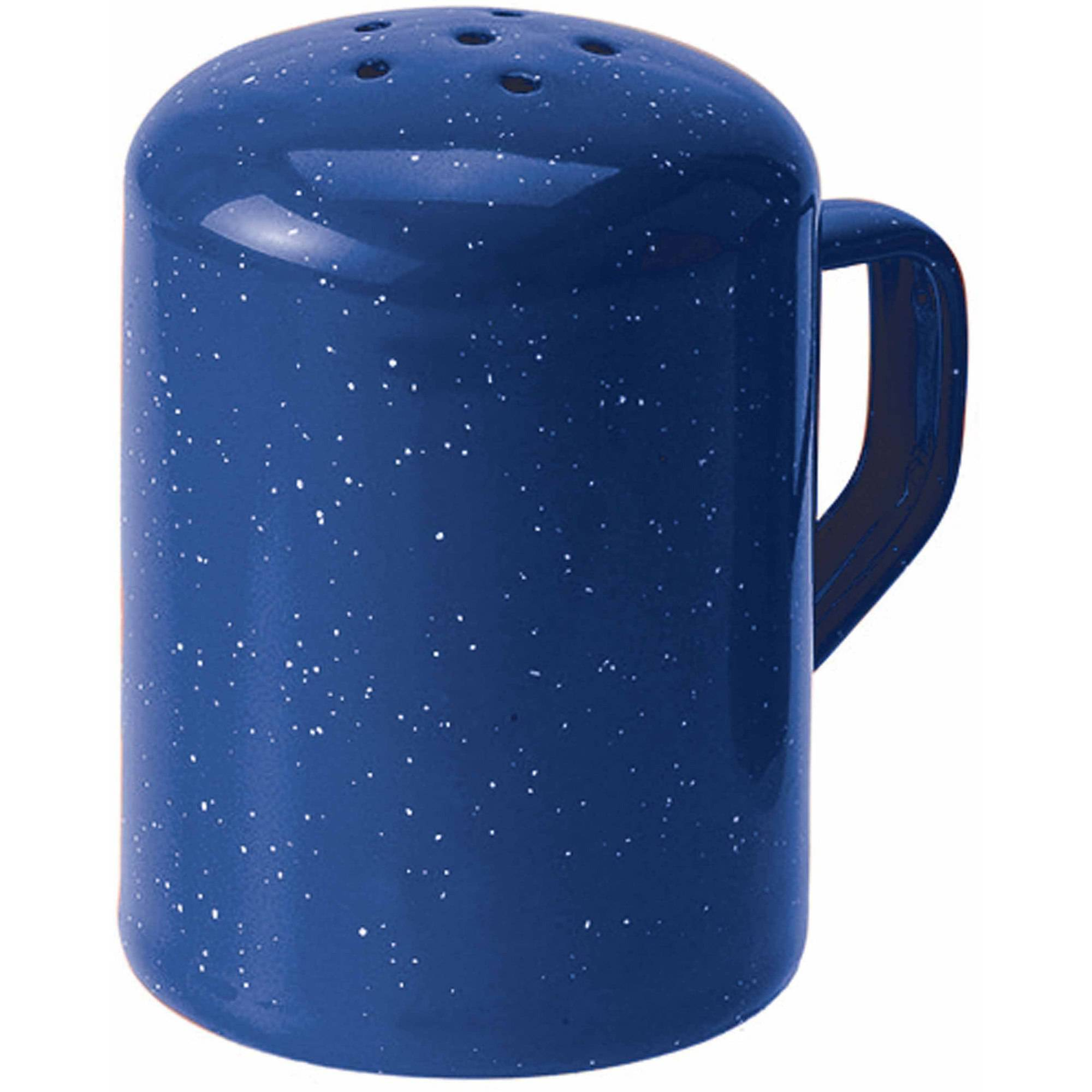Bekina Gsi Outdoors Enamelware 6-Hole Pepper Shaker, Blue