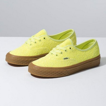 Vans Authentic Ice Cream Glitter Yellow Women's Classic Skate Shoes Size 7 (Vans Cream Shoes)