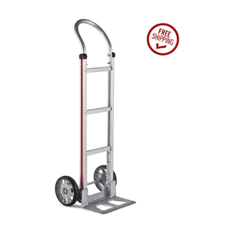 """Aluminum Loop Handle 14"""" Nose 8"""" Tire Hand Truck (500# Cap.) Stair Climber by Magliner (Made in U.S.A.)"""