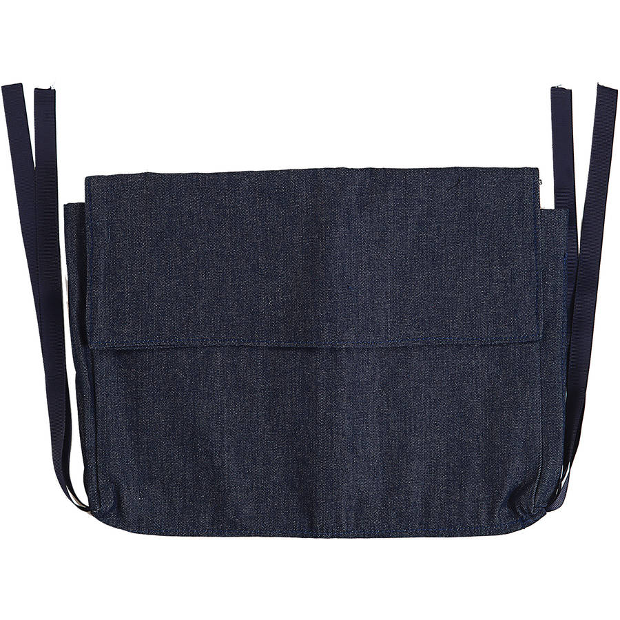 DMI Walker Pouch, Multi-Pocket Carry-All Bag, Blue Denim