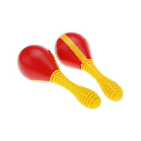 Plastic Egg Maraca Musical Early Educational Rhythm Toy Tool for Baby Kid Child](Baby Maracas)