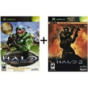 Refurbished Halo 1 And Halo 2 Bundle Xbox And Compatible For Xbox 360
