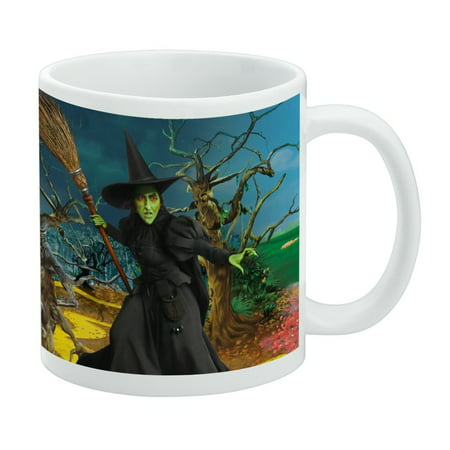 Wizard of Oz Wicked Witch Character White Mug Wizard Oz Characters