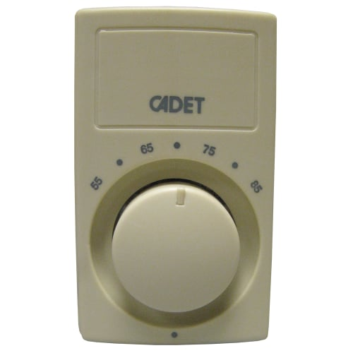 Cadet C600C Bimetal 22 Amp Single Pole Wall Thermostat for Cooling or Heating