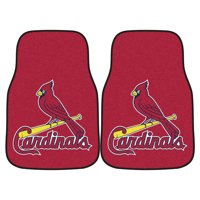 "St. Louis Cardinals 2-pc Carpeted Car Mats 17""x27"""