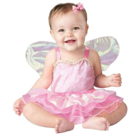 In-Character Infant Girls Pretty Pixie Costume Baby Pink Fairy Princess