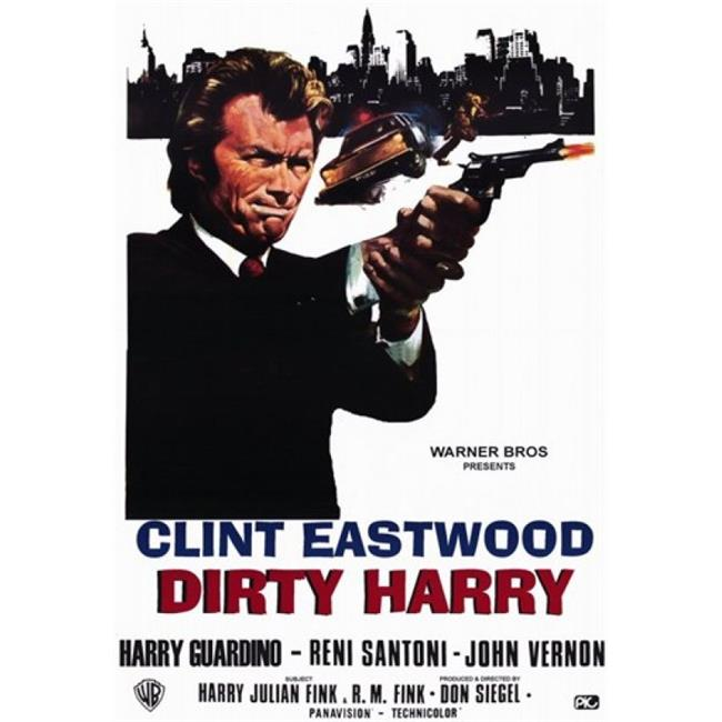 Posterazzi MOV190923 Dirty Harry Movie Poster - 11 x 17 in. - image 1 de 1