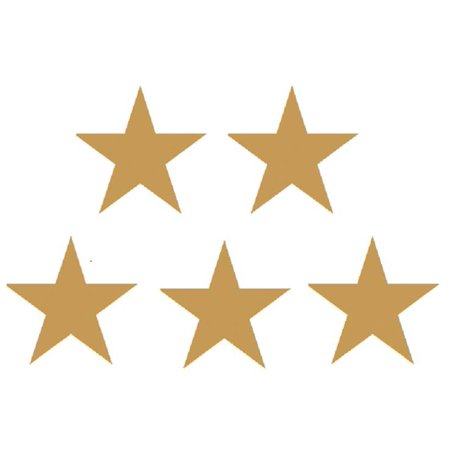 Gold Foil Stars Stickers - Star Stickers
