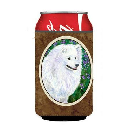 American Eskimo Can Or Bottle  Hugger - 12 oz.