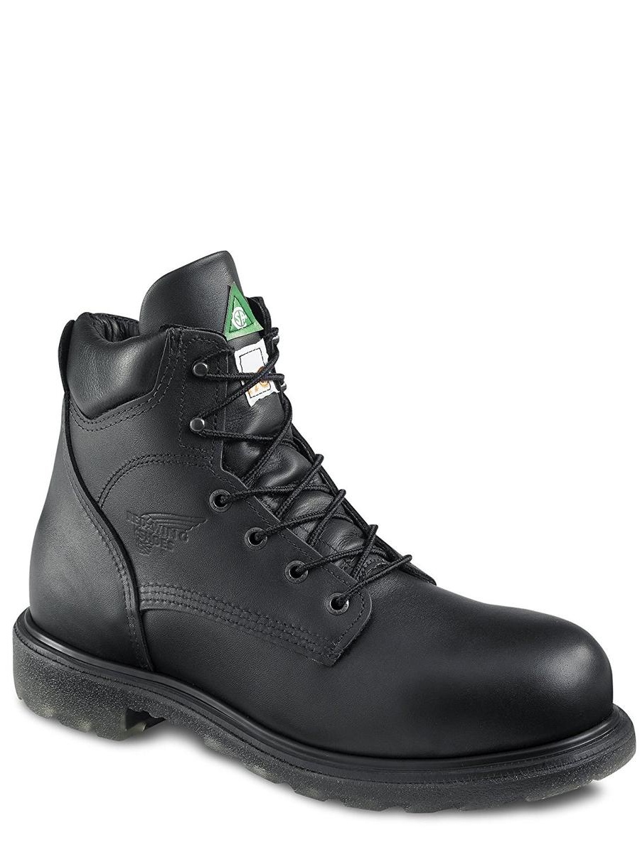Red Wing 3507 Mens Black Boots