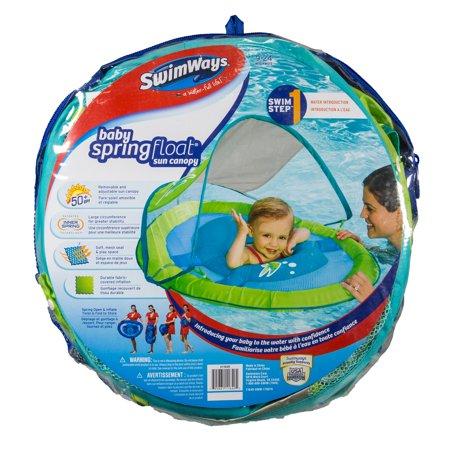 Pool Fun Pools & Spas Swimways Baby Spring Float Sun Canopy