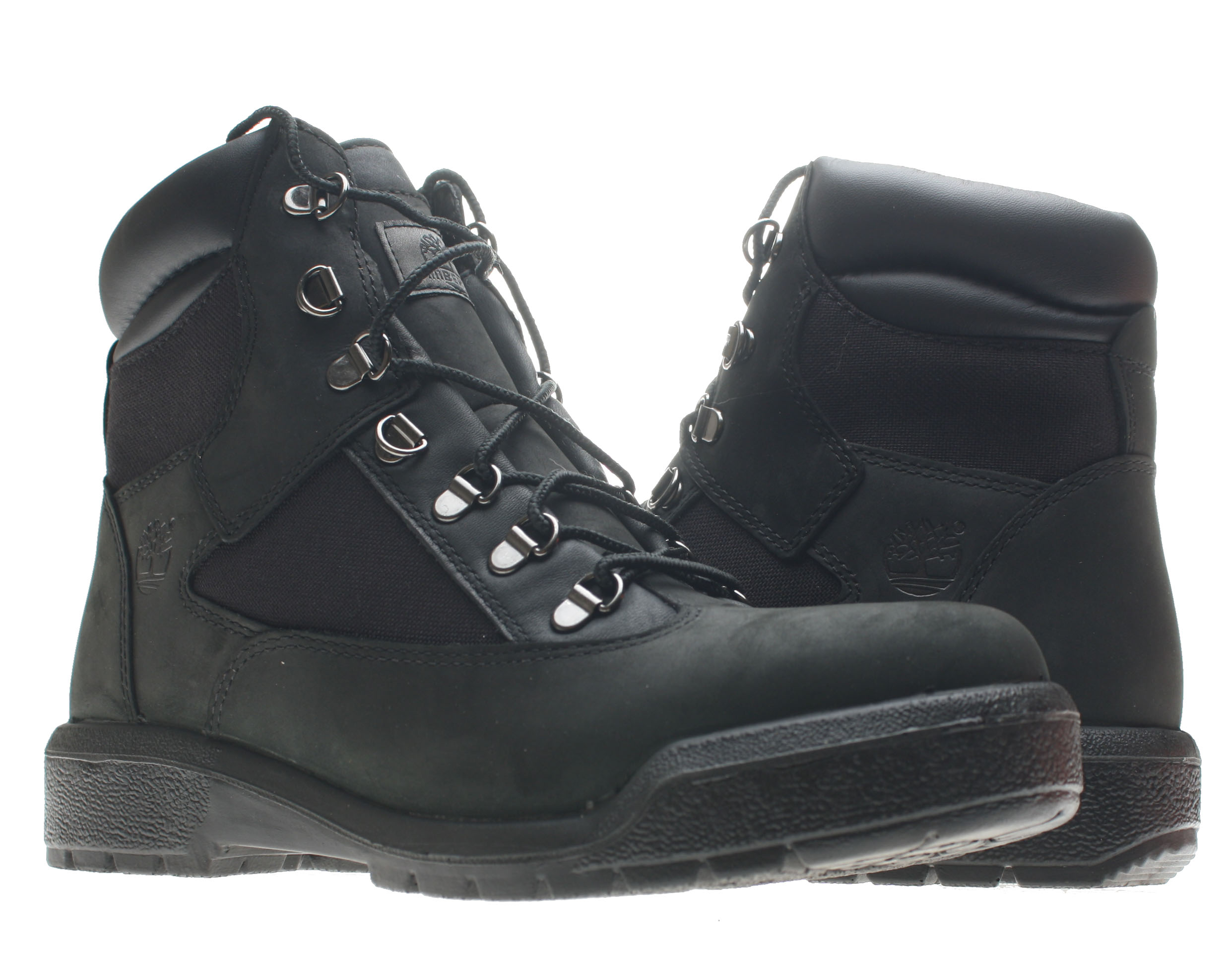 Timberland 6-Inch Waterproof Field Boot Black Men's Boots 98518 Size 8.5 by Timberland