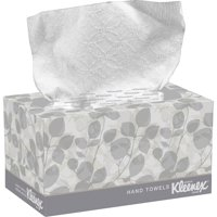 Kimberly-Clark, KCC01701, Kleenex Boxed Hand Towels, 120 / Box, White