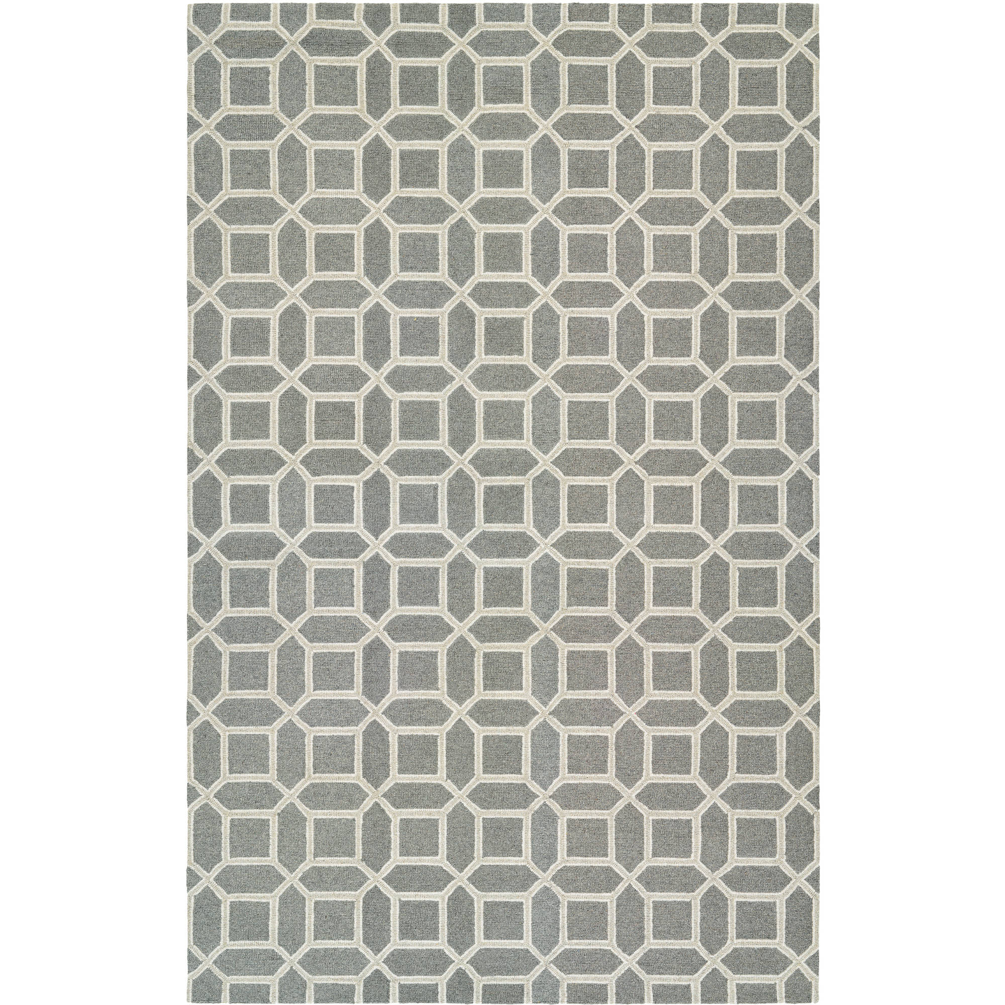 Couristan Bowery Havemeyer/Charcoal-Grey Rug