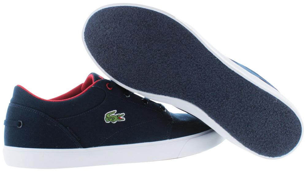 3e26b1bf12a9 Lacoste - Lacoste Bayliss Vulc Prm Low Top Men s Court Sneakers Shoes -  Walmart.com
