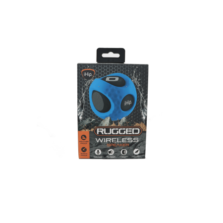 Ihip Rugged Bluetooth Ball Portable Wireless Water Resistant