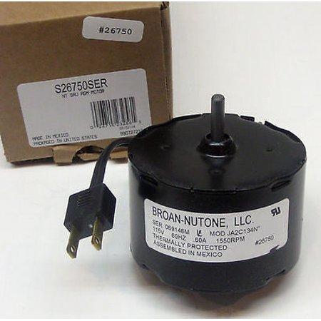 S-26750SER Broan Nutone Bathroom Fan Vent Motor OEM JA2C134N 26750