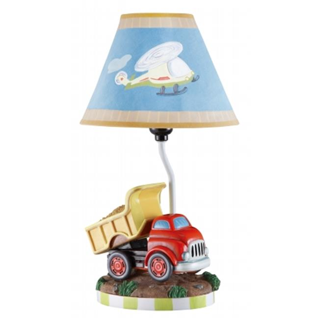 Teamson TD-0035A Boys Table Lamp - Transportation Room Collection