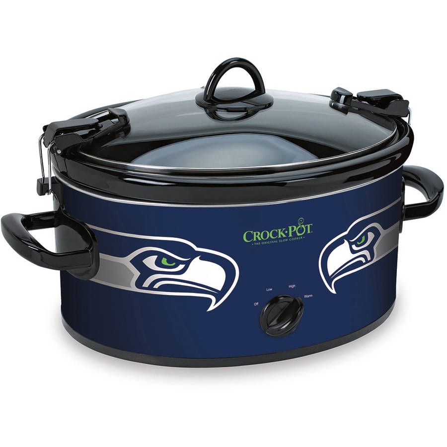 Crock-Pot NFL 6-Quart Slow Cooker, Seattle Seahawks