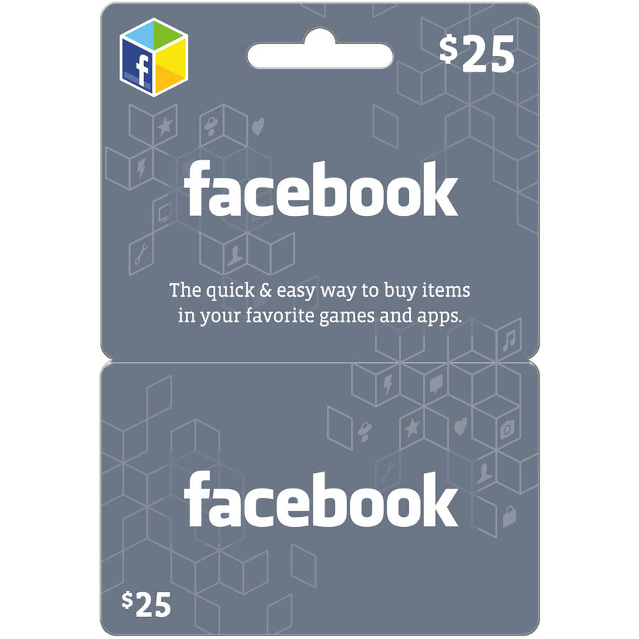 Facebook $25 eGift Card (Email Delivery)