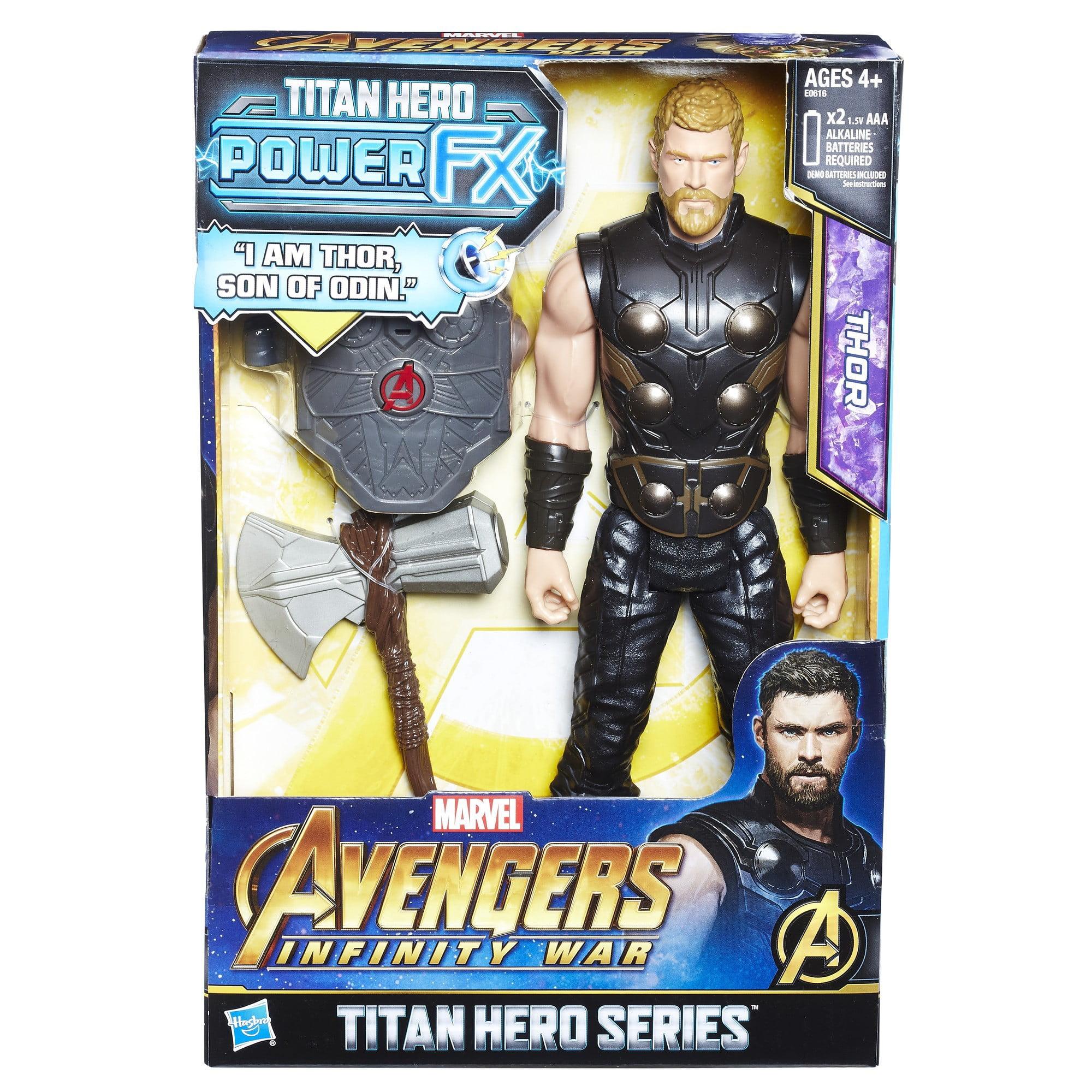 Marvel Avengers Infinity War Thor Titan Hero Series 12-Inch Action Figure New