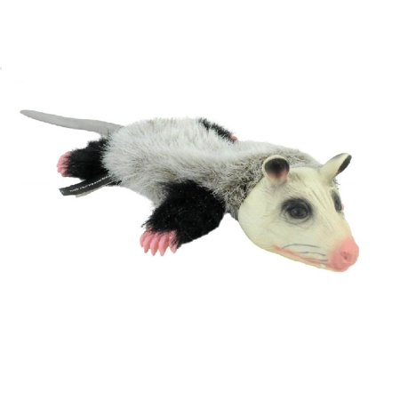 Realistic Animal Dog Toy Stuffing Free with Squeaker Possum or Skunk Dogs Toys (Possum) - Realistic Dog