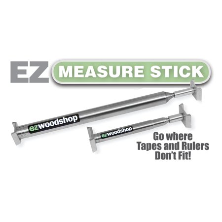 EZ Measuring Stick Combo Package for Inside Measuring - Mini & Large Stick for $<!---->