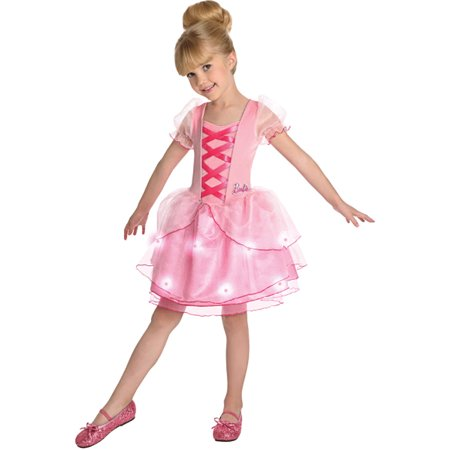 Child Barbie Ballerina Dress Costume by Rubies 886747 (Balarina Costume)