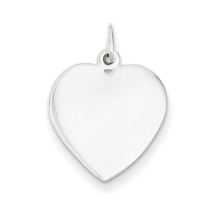 Sterling Silver Small Heart Charm](Small Charms)