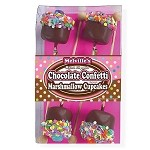 Chocolate Confetti Marshmallow Cupcakes: 3 Count